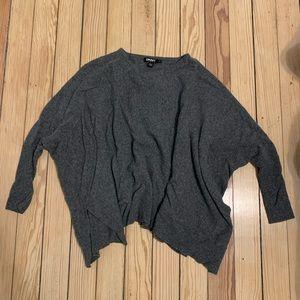 DKNY poncho sweater!